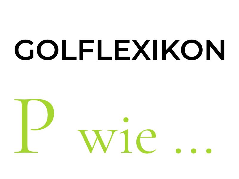 readmygolf Golflexikon P wie Special