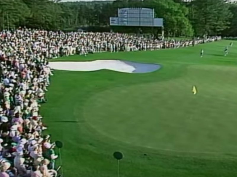 Comeback Nicklaus 1986 Masters