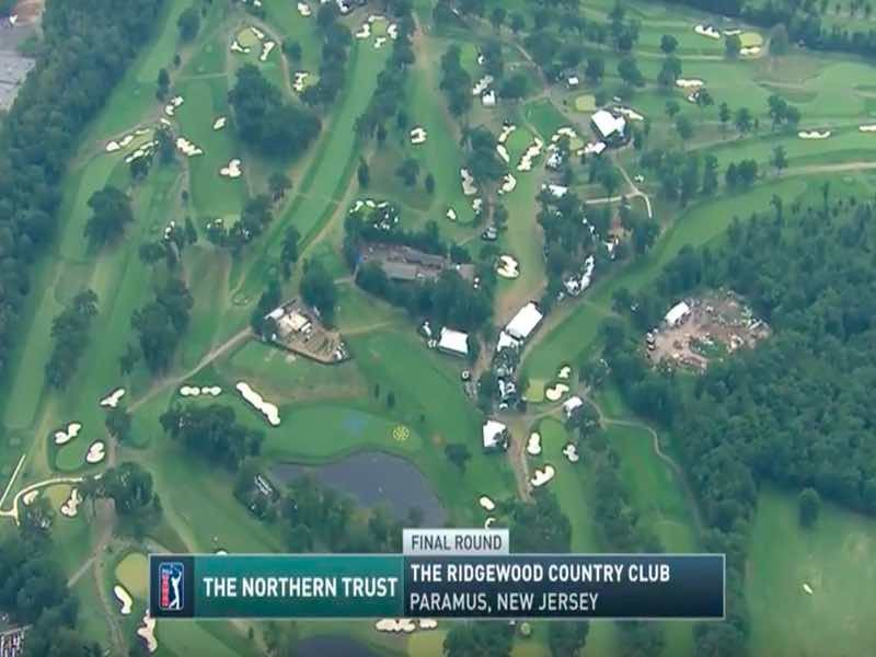 Highlights der Finalrunde der Northern Trust
