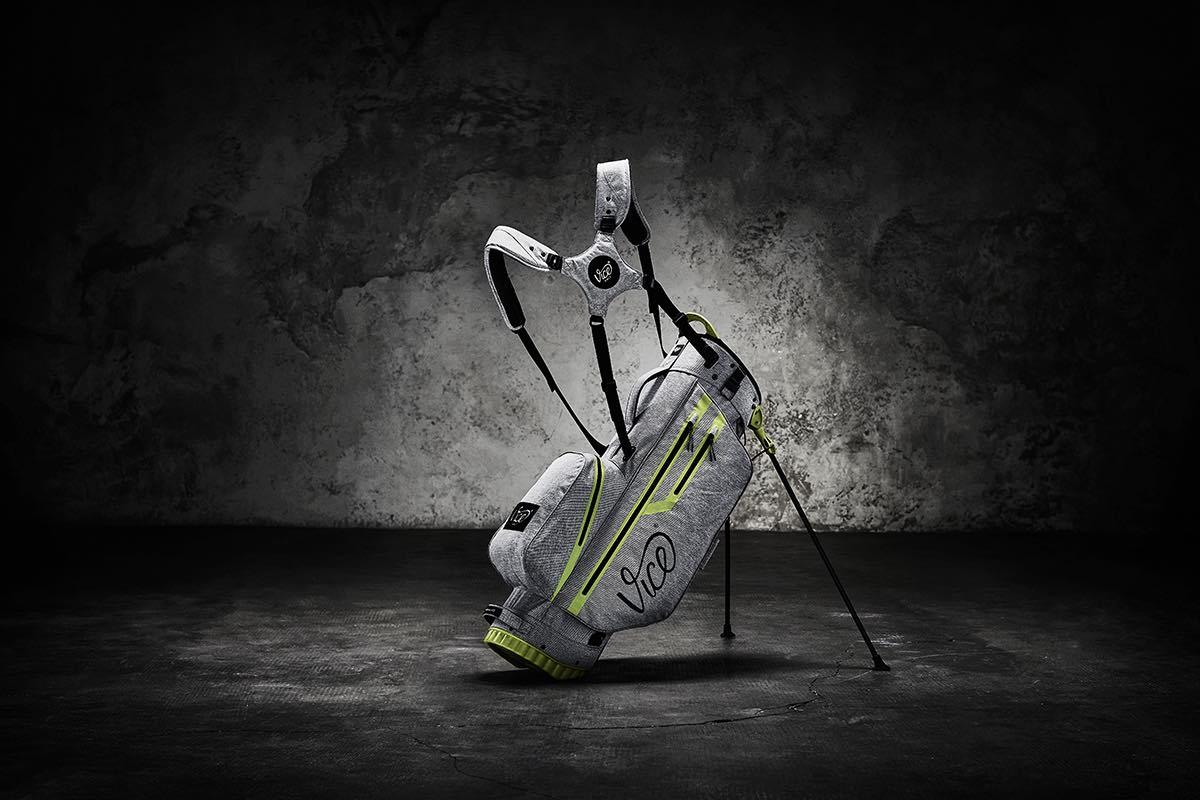 Bucket List Vice Golf Bag grau