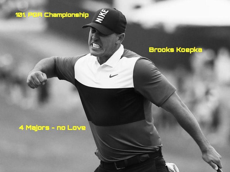 4 Major für Brooks Koepka